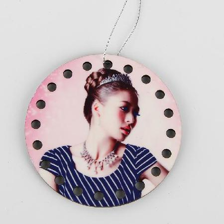 Blank MDF Pendant for Sublimation