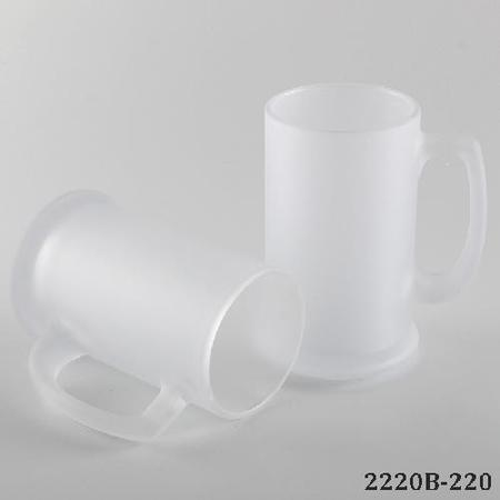 Frost Glass Beer Sublimation Mug