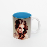 11 oz inside blue sublimation mug