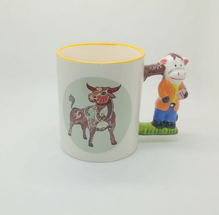 11oz Animal Handle Sublimation Mug
