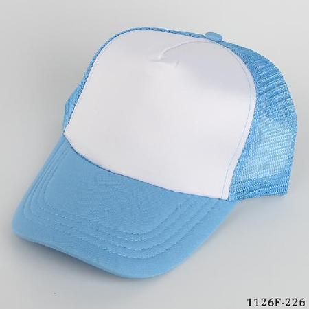 Blank Cap for Heat Transfer Light Blue