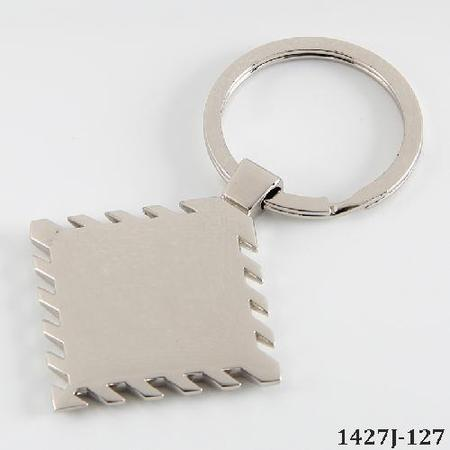 Stainless Steel Sublimation Keychain