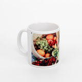 11 oz white ceramic sublimation mug