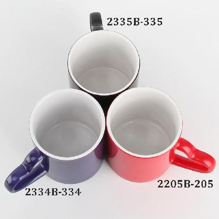 Heart Handle Color Changing Magic Sublimation Mug