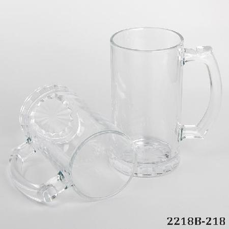 Glass Beer Mug for Sublimation