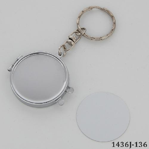 Blank Compact Mirror for Sublimation/Round